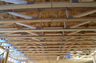 installing floor trusses and trusses vs joists