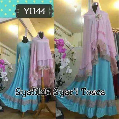 Syafillah Syari baju gamis bergo cantik syafila y1144 busana muslim syari