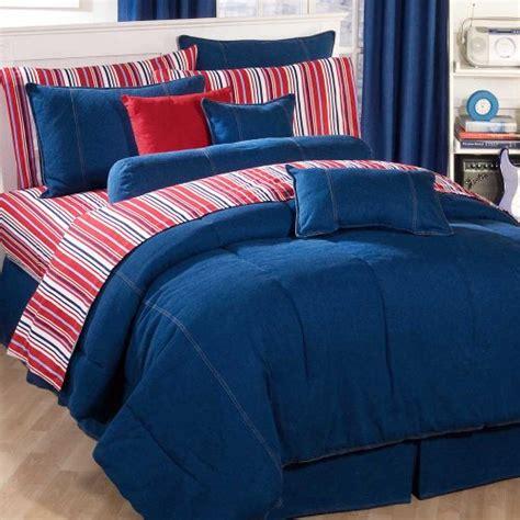 American Denim Queen Comforter Only
