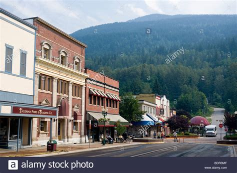 pictures of downtown bc downtown revelstoke bc canada stock photo royalty free