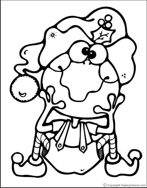 christmas coloring pages easy easy christmas coloring pages az coloring pages