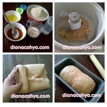 step membuat roti tawar roti tawar gandum dianacahya com