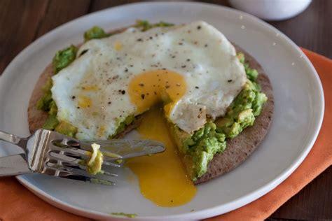 Fix Toaster Avocado And Fried Egg Breakfast Pita