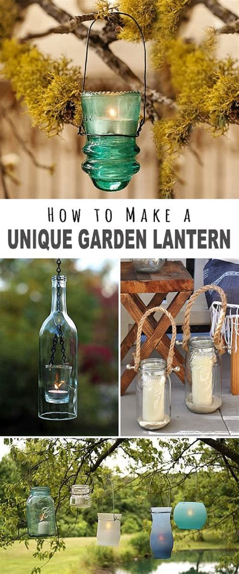 9 Hyper Creative DIY Outdoor Lighting Ideas For Your Backyard