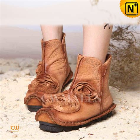 comfortable ankle booties comfortable leather ankle booties tan cw350153