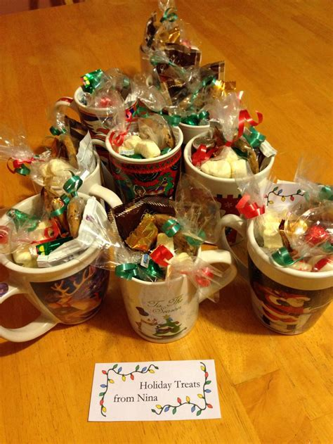 holiday treats for co workers gifts pinterest
