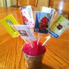 How To Make A Gift Card Bouquet - gift card money tree ideas on pinterest gift card bouquet gift cards and candy