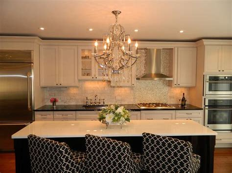 kitchen island chandeliers kitchen with chandelier hgtv