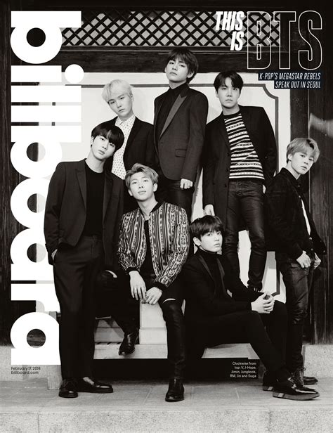 bts on billboard bts covers billboard magazine bts starmometer