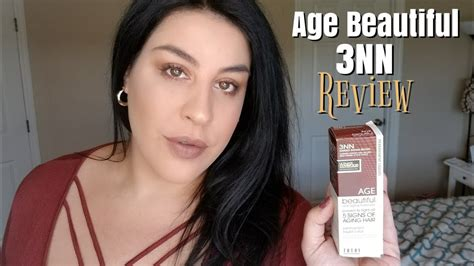 age beautiful hair color reviews age beautiful hair color 3nn review application youtube