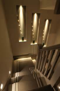 stair lighting fixtures 25 best ideas about wall niches on niche