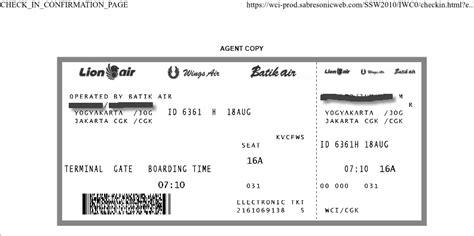 batik air check in online cara melakukan web check in online batik air informasi