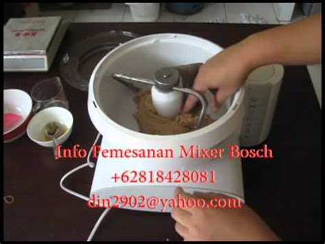 Mixer Roti Merk Philips terjual mixer roti dan cake merk bosch made in germany