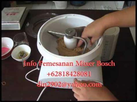 Bosch Mixer Roti roti tawar gandum