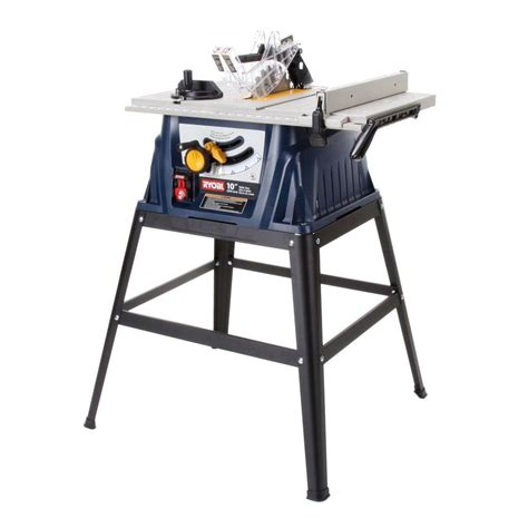 ryobi 15 10 in table saw rts10 the home depot