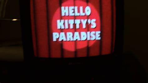 theme song of hello kitty lyrics hello kitty theme song youtube