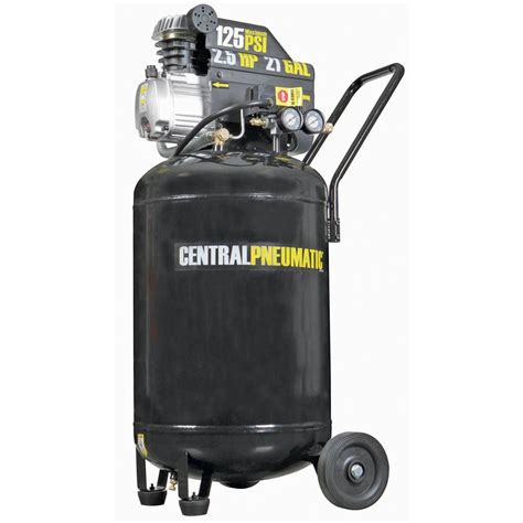 vertical air compressor 21 gal 2 5 hp 125 psi cast iron vertical air compressor