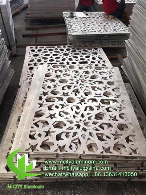 how to cut decorative aluminum sheet aluminum perforated panel hollow decorative sheet laser