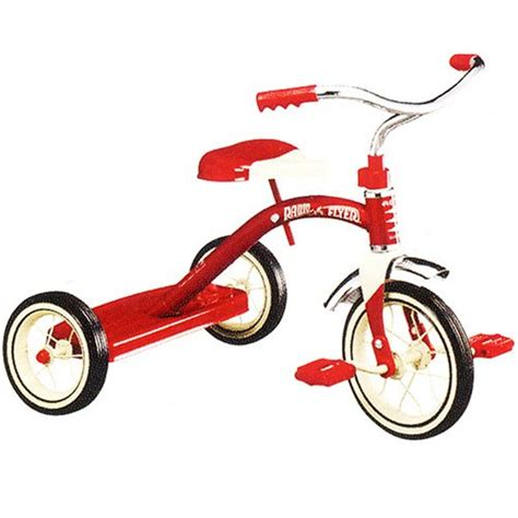 radio flyer tricycle radio flyer classic 10 inch tricycle best bike for