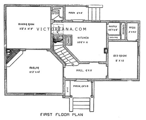 victorian cottage house plans victorian cottage cottage house plan