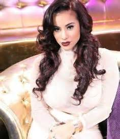 cyn santana burgundy hair cyn santana eye candy pinterest