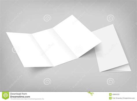 Paper Card Wave Template by Blank Tri Fold Paper Brochure Design Template Design Blue