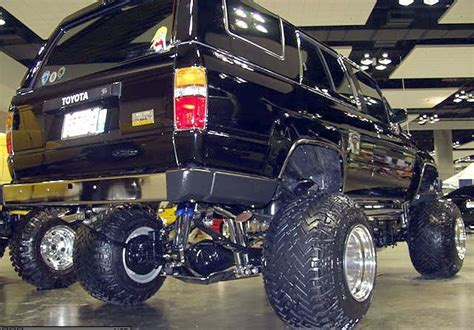 toyota big cars car modification big foot car auto custom wallpaper