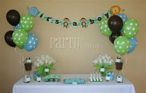 Safari Baby Shower by Safari Baby Shower Table Decor Photograph Partylicious An