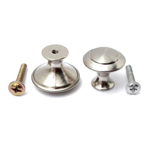 1 2 4pcs stainless steel satin nickel pull handle