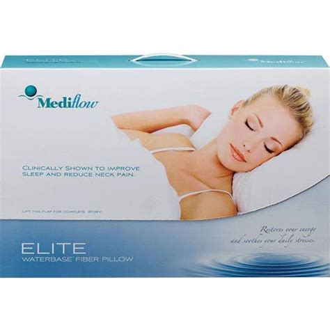 Mediflow Waterbase Pillow Where To Buy by Mediflow Elite Waterbase Pillow Bedsheets Pillows And