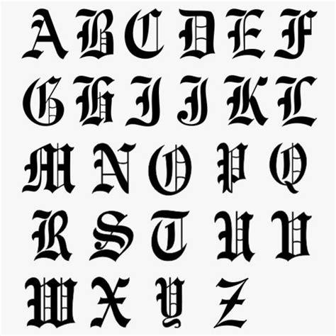 Klebebuchstaben Old English by Versalien Initialaufkleber Schriftbild Altdeutsch