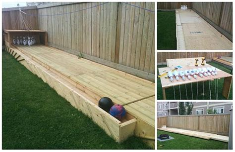 diy backyard bowling alley diy backyard bowling alley tutorial