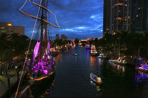 fort lauderdale christmas boat parade boat parades floating to florida for the holidays