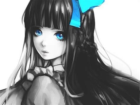 Anime With Black Hair by Anime Drawing Black Hair Suggestions Images