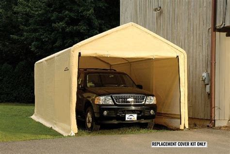 Shelterlogic Garage Replacement Covers by Shelterlogic Replacement Cover 10x20 Peak 90582 800463