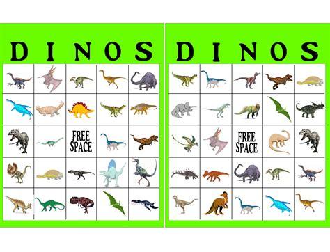 printable dinosaur games dinosaur bingo game printable everydayparties