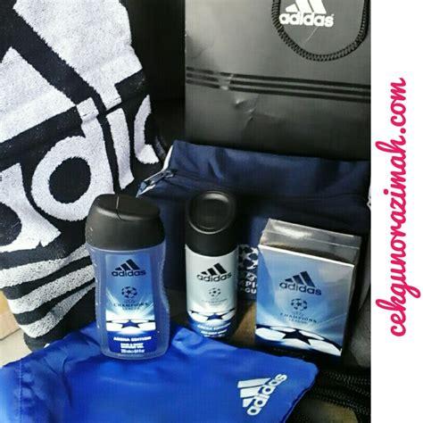 body spray terkini dipasaran wangian terbaru adidas uefa chions league arena edition