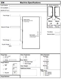 interior door interior door order form
