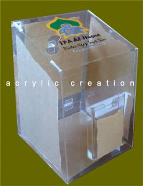 Jual Cermin Akrilik category kotak amal acrylic akrilik acrylic display