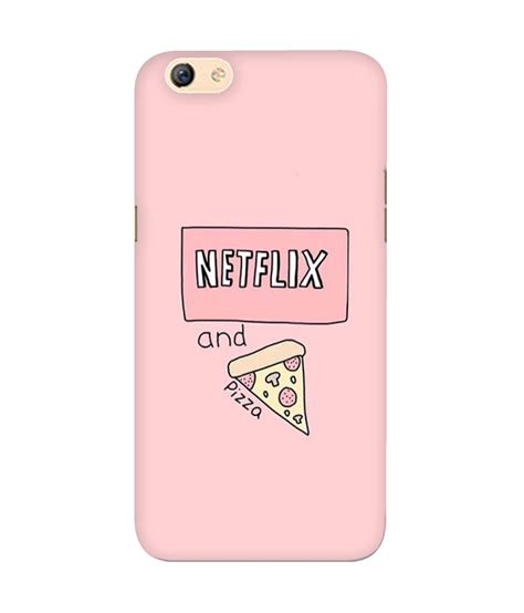 Trooper It 0030 Casing For Vivo V5 Hardcase 2d netflix and pizza phone for oppo f3 chakri