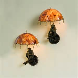Art Pedestals For Sale Maitland Smith Pair Of Monkey Wall Lamps