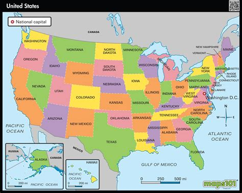 united states picture map primary level united states political map maps