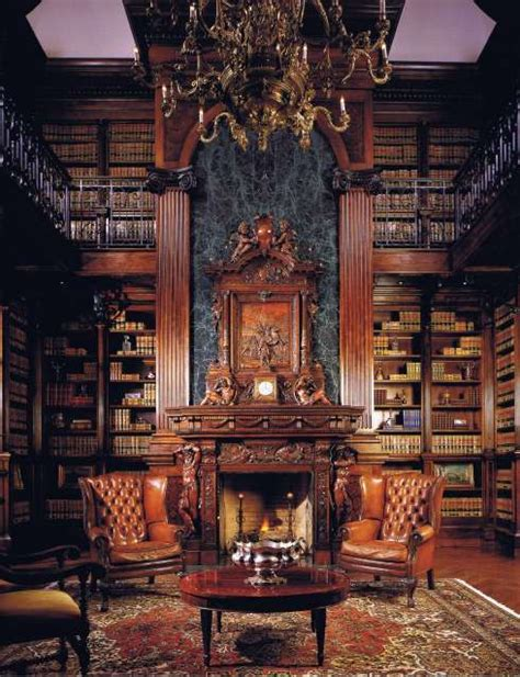 Home Library Design With Fireplace Fireplace Surround Designs Period Perfection