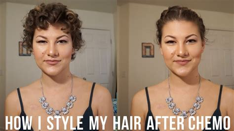 How To Style Chemo Curly Hair | how to style hair during after chemotherapy chemo