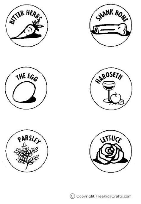 seder plate symbols template printable seder plate