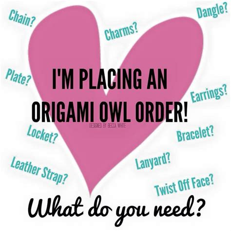 Origami Owl Order - 40 best o2 images on origami owl