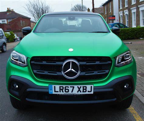 green mercedes a class mercedes x class creative fx