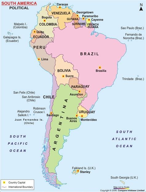 south america map countries and capitals quiz capitals countries south america software free