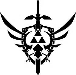 Hylian Shield Outline by Triforce Tattoos Designs Ideas And Meaning Tattoos For You