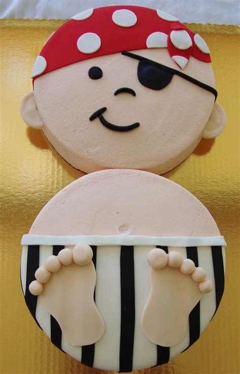 Pirate Theme Baby Shower by Pirate Baby Cakecentral